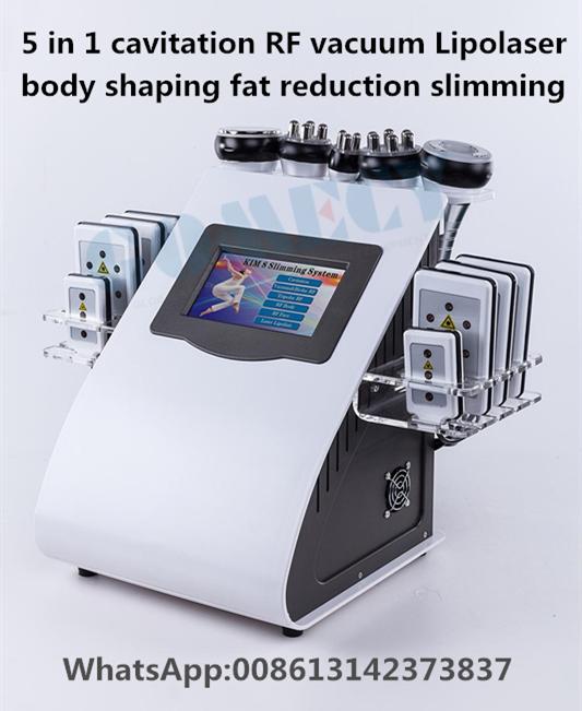 body shaping cavitation /vacuum/ rf slimming machine