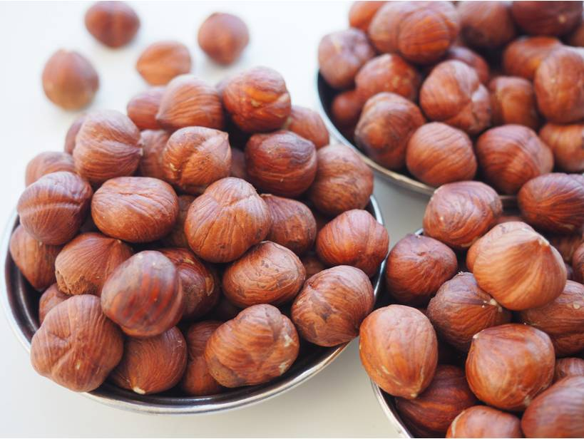 Raw Hazelnut Kernels