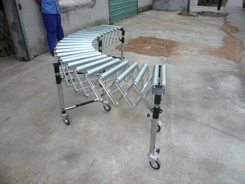 Gravity Flexible Roller Conveyor