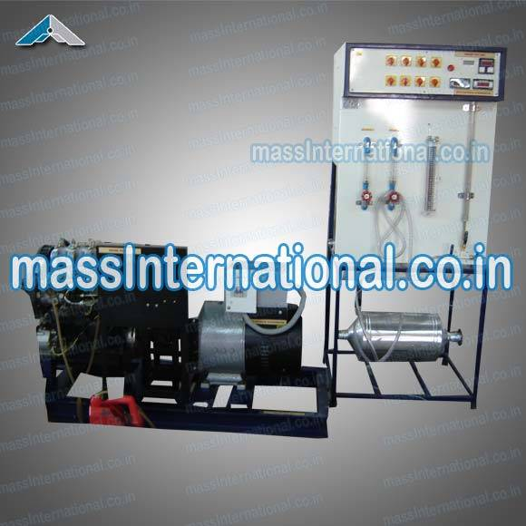 4 Cylinder 4 Stroke Diesel Engine Test Rig  (TH-08 )