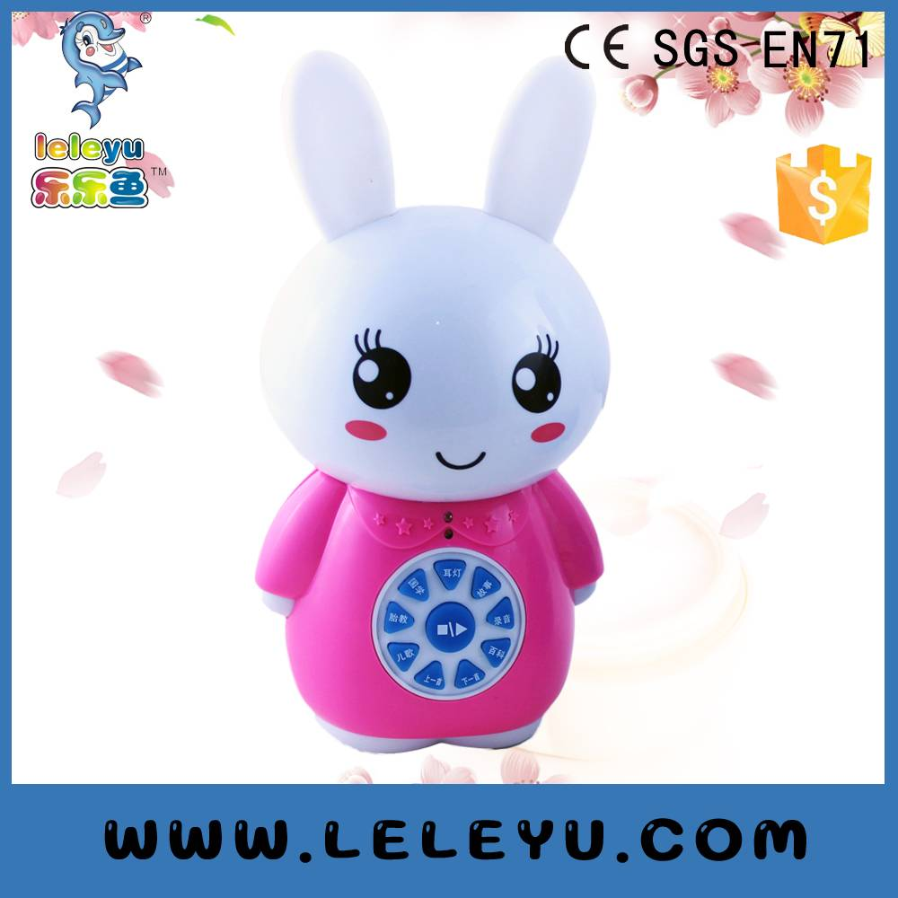Lovely cartoon kids learning toys music sound learning story machine
