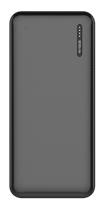 Techplus 5000mAh portable power bank with dual USB Port small size