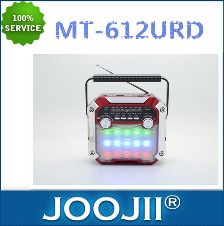 AM/FM/SW 3 BRAND RADIO WITH LED TORCH LIGHT AND DISCO LIGHT