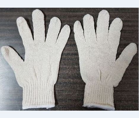 Clearance Sale Stock 2nd Grade 600gr Raw White Glove 9inch Super Cheap