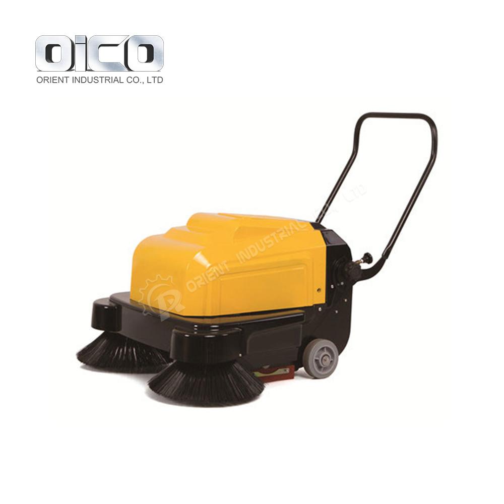 battery floor sweeper mechanical sweeper machine electric walk behind road sweeper