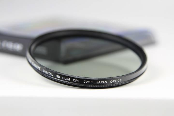 K&F Concept 72mm CPL filter