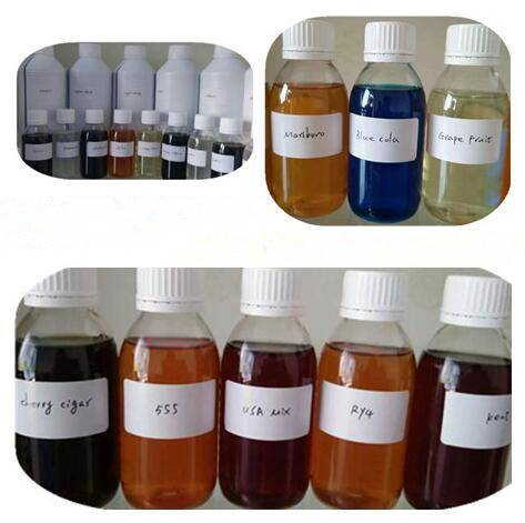Fruit flavor liquid with PG VG based for e-juice about 200 kinds.