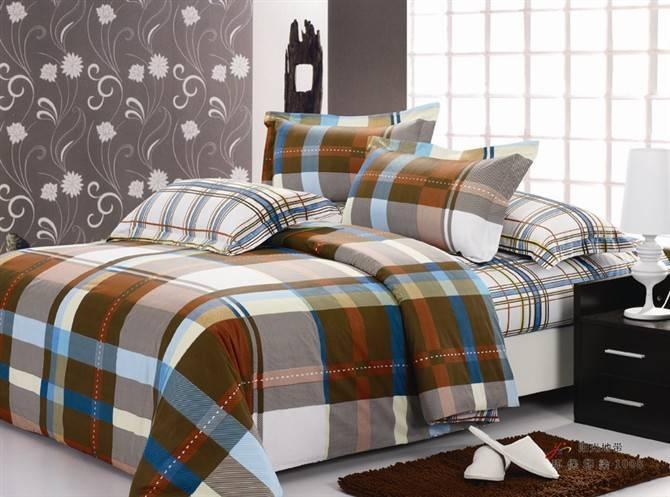 printed cotton bed sheet set
