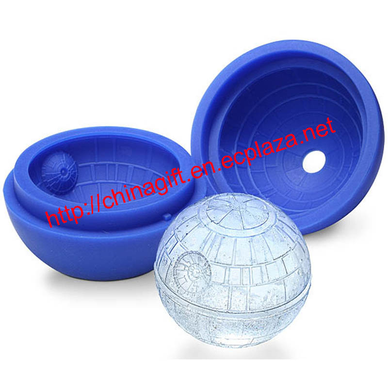 Star Wars Death Star Ball Shape Silicone Ice Cube Mold