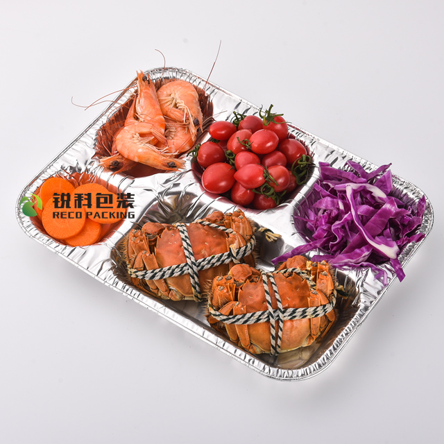 Eco-Friendly Aluminum foil food tray