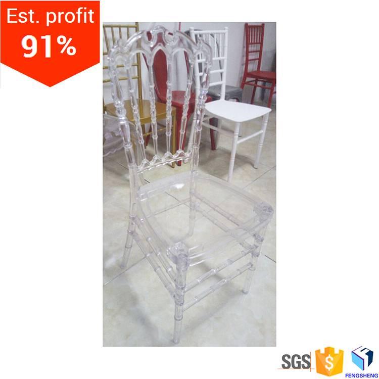 resin crown chair