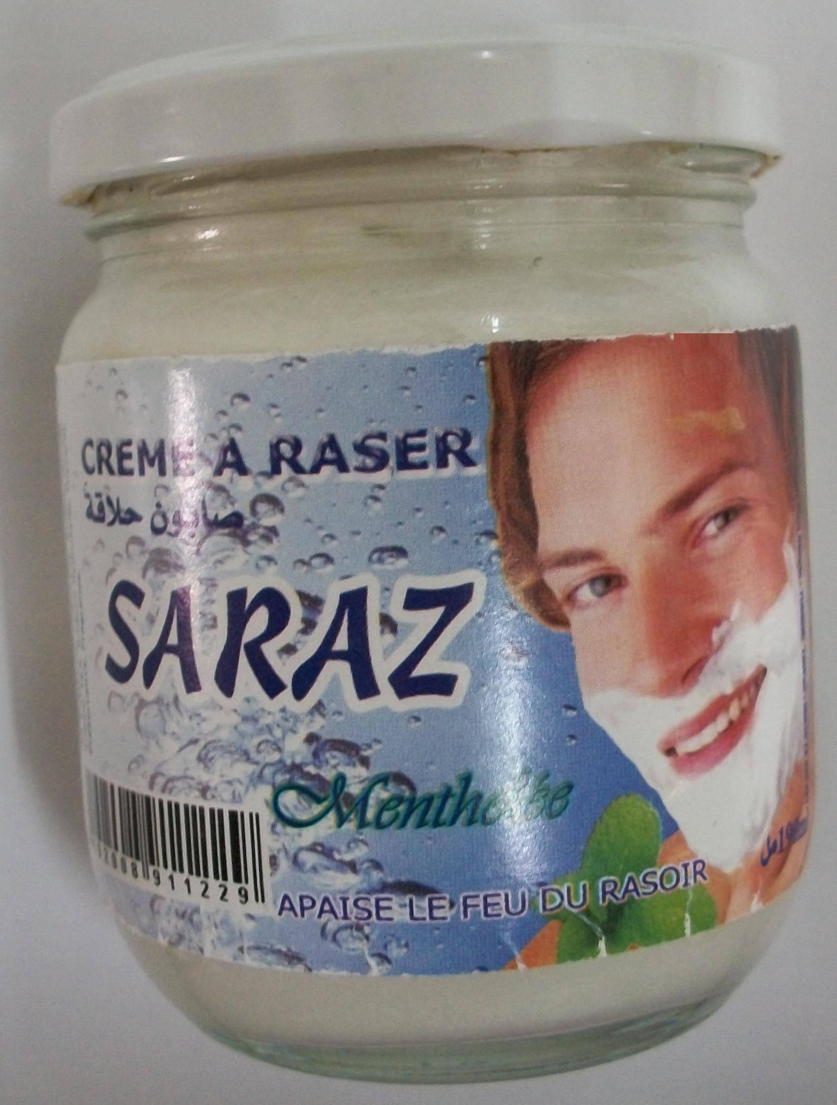 SARAZ shaving cream