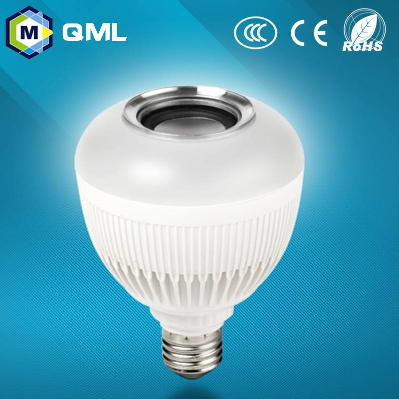 Hot selling fashion design led speaker bulbs with APP