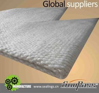 Heat Resistance Fireproof Thermal Insulation Ceramic Fiber Cloth With Vermiculite Coated