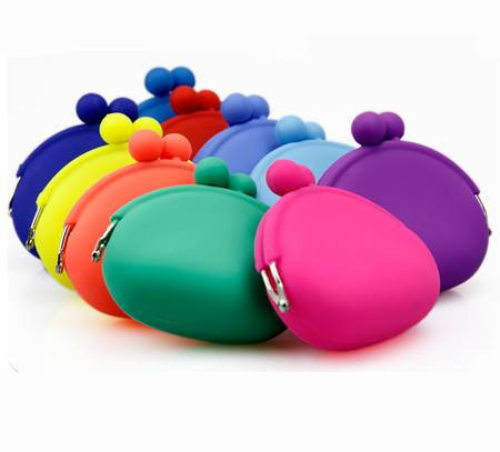 Silicone Wallet Bag for Customer Designed with Pormotional Material