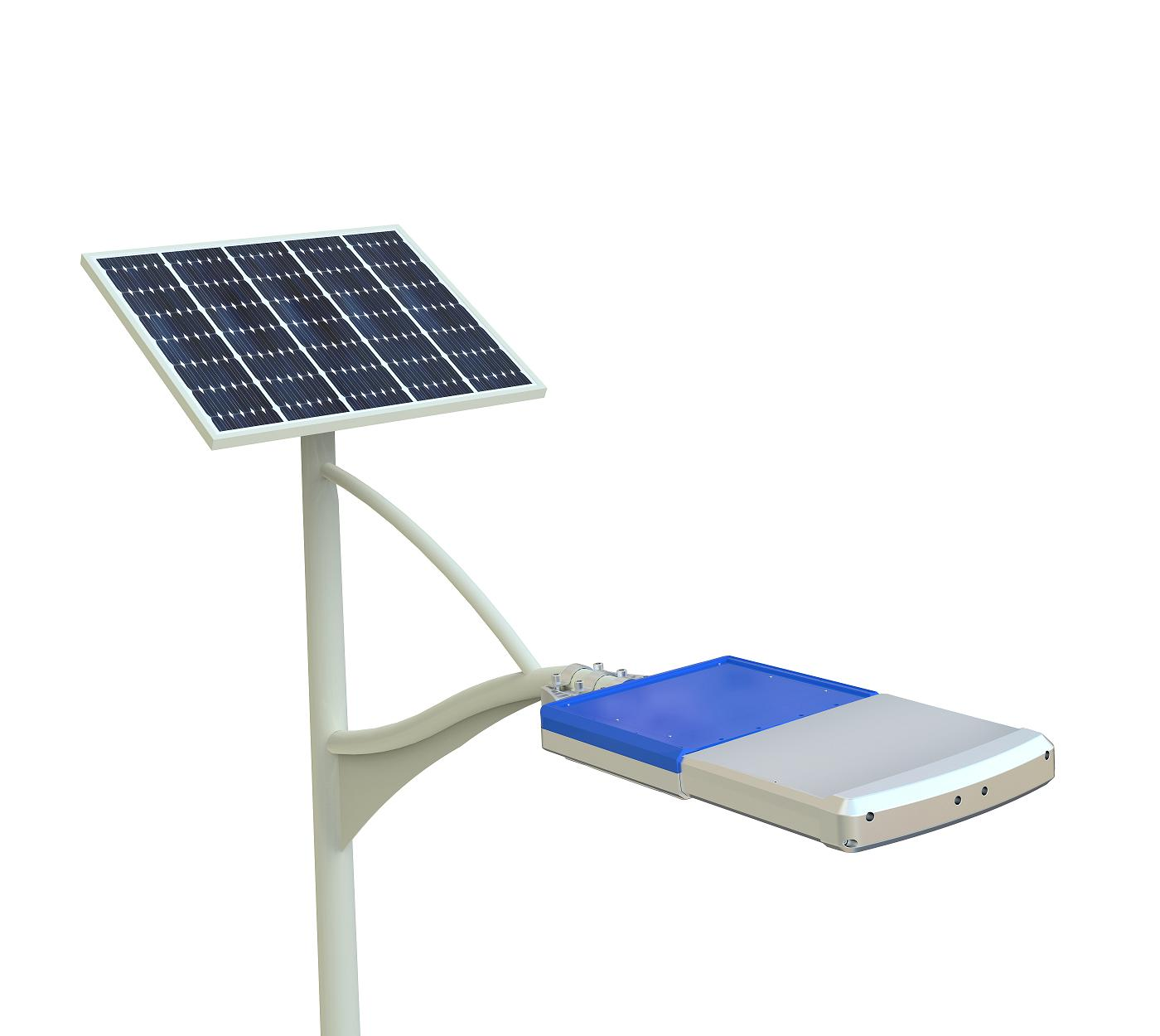 Sun power 72W integrated solar led street light solar garden light stree lamp plus solar panel