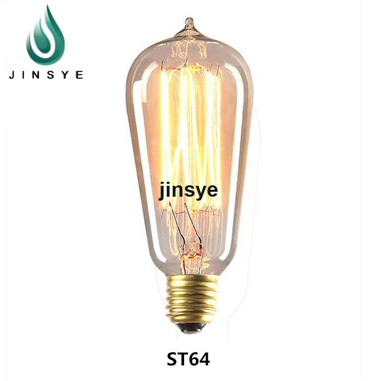 2016 new product antique light bulb retro cage bulb electric bulb