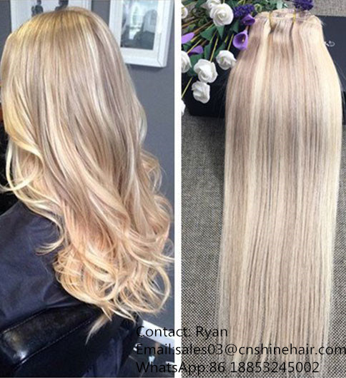 Hot selling Clip In Hair Extension