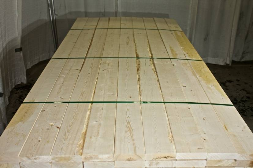 European Pine Lumber 8-14% KD S4S