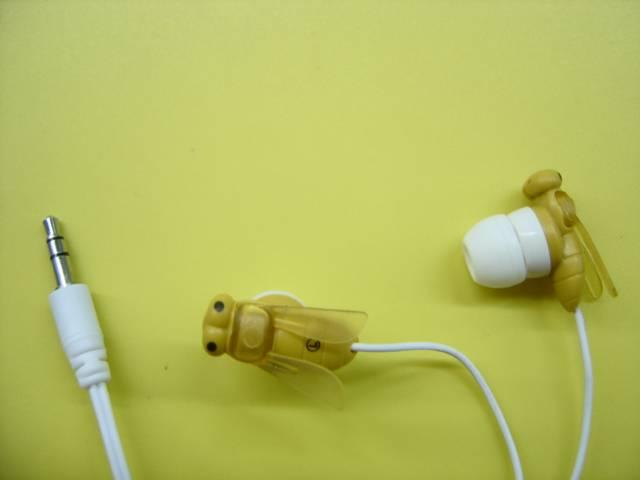Animal style funny earphone