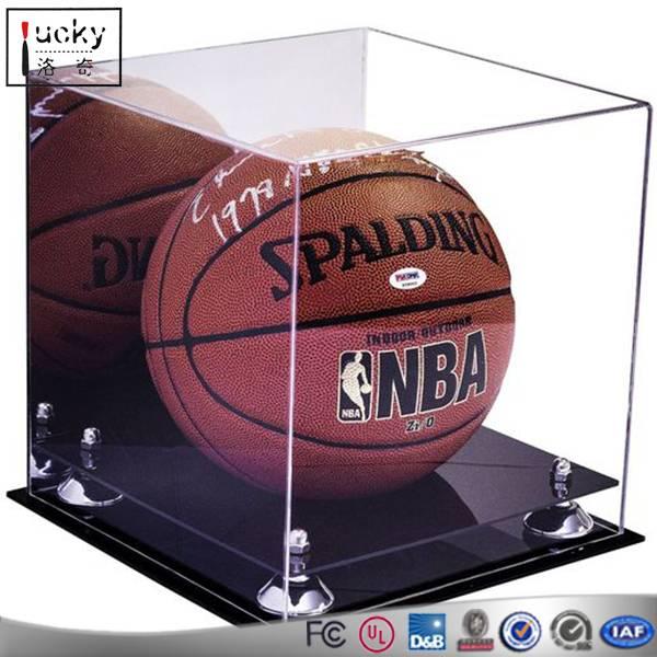 Acrylic basketball display case/ acrylic display box