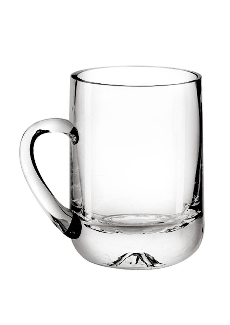 LFGB,FDA,CE / EU,SGS Certification and Glass Drinkware Type beer glass with handle