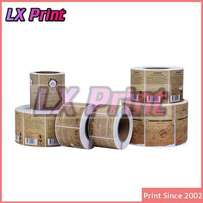 new china products for sale food Label,pvc Wine label
