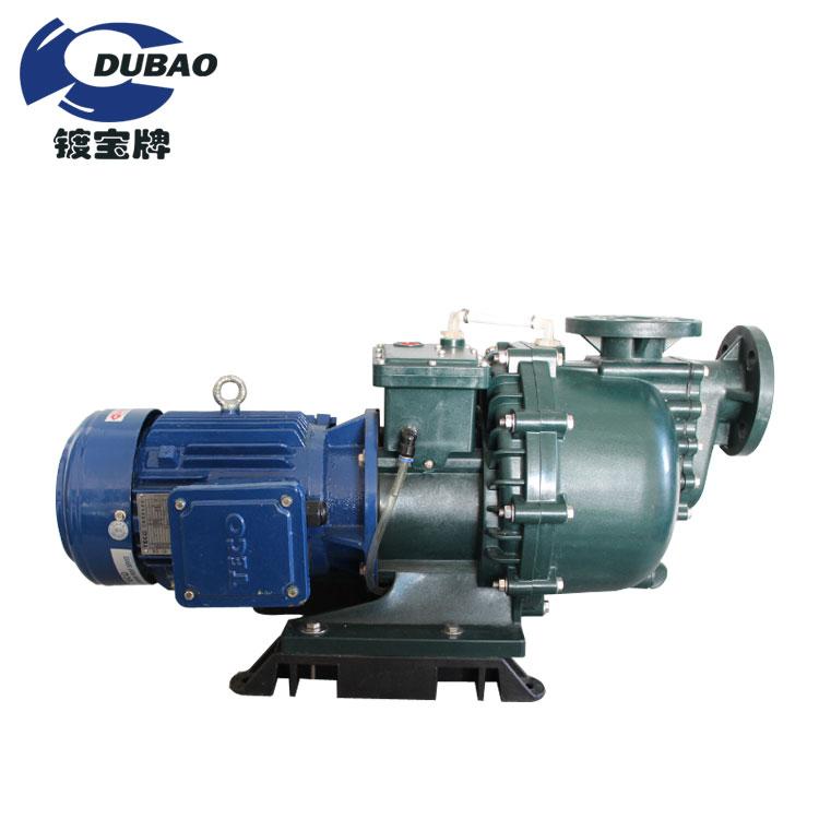 Waste water acid-base resisting pump 72h-idling self-priming pump for industrial plating