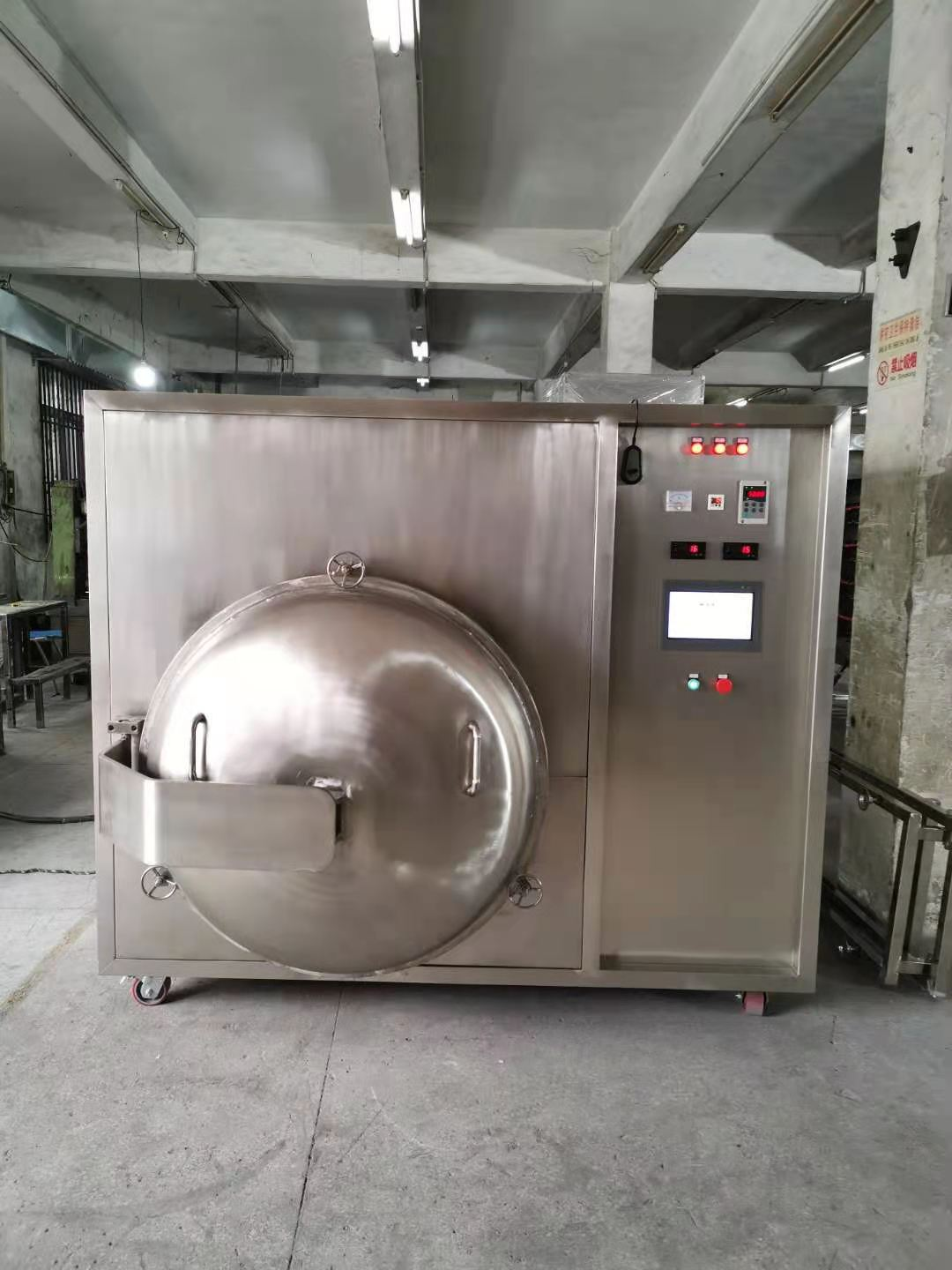 Microwave vacuum dryer tropical fruits drying machines