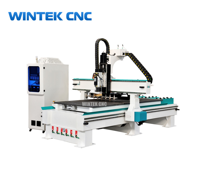4x8 ATC Cnc Router Wood Carving Machine With Automatic Tool Changer