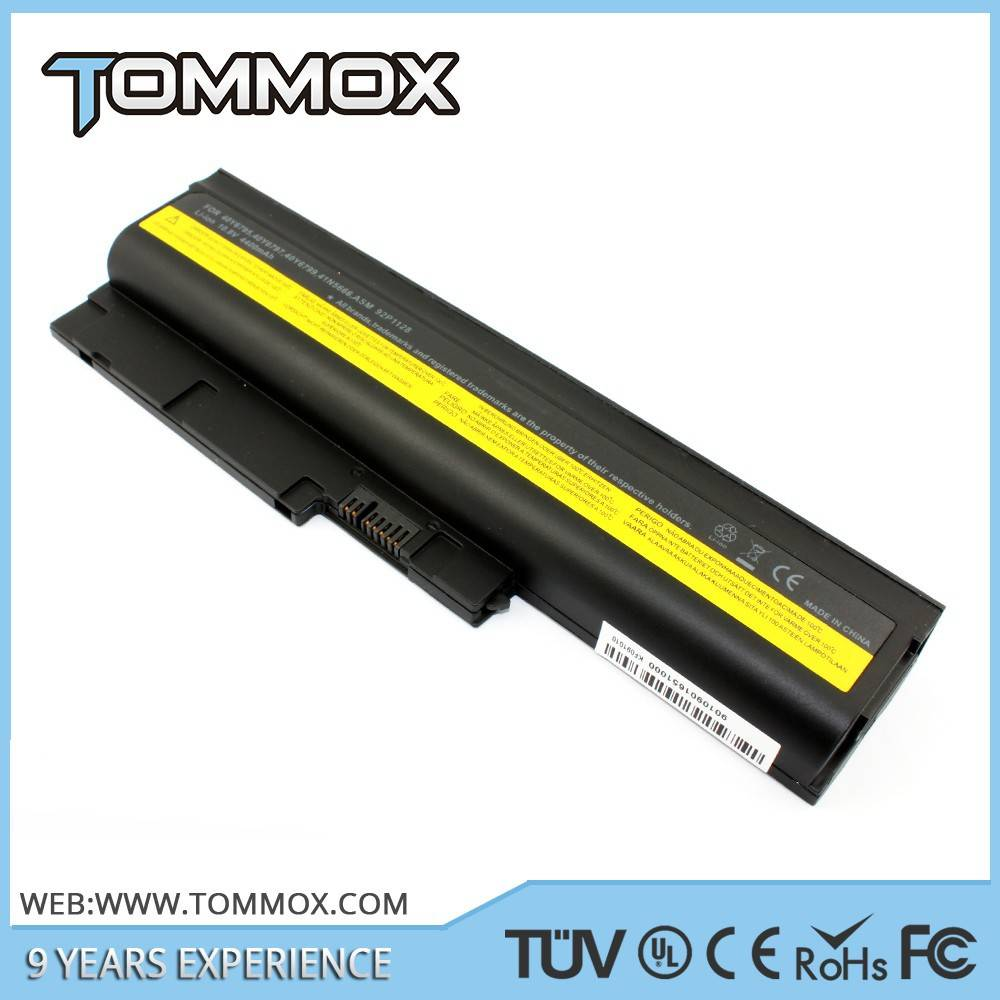 Laptop Battery Replacement for IBM notebooks for ThinkPad R60e 40Y6799 FRU 92P1137 FRU 92P1139 FRU 9