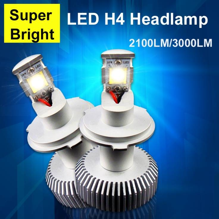 36w cree led auto headlight h4/h7/h8/h11 bulbs