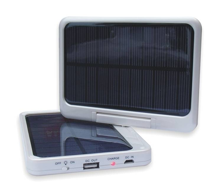 7000mAh Solar Charger & Light Charging and Lighting 2 Unit 1 for Cell Phones, Digital Cameras, GPS