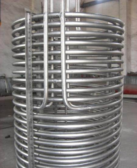 Gr1,Gr2 ,titanium heat exchanger