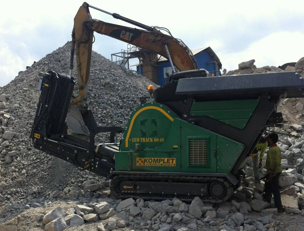 Used Super Crusher LEM Track 60-40