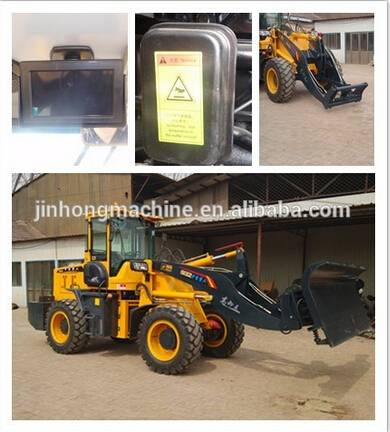 CE 85KW wheel loader OF factory price