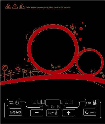 Home sigle Induction cooker for Middleeast/Southeast Asia,Induction Cooker