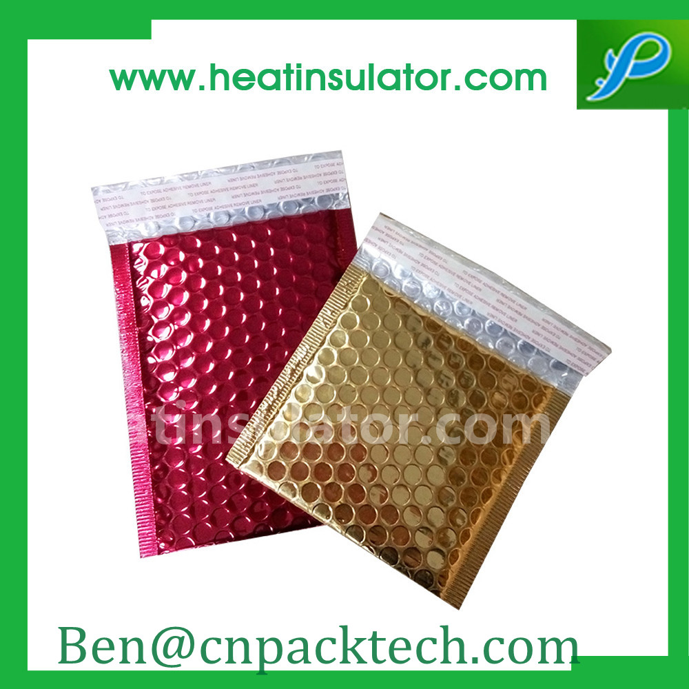 Custom Colorful Packing Insulated Pouches Bubble Mailers