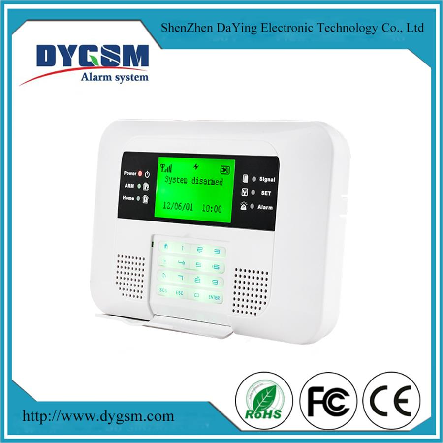 High-End Touch-Keys Gsm+Pstn House Security Bluguard Gsm Alarm System