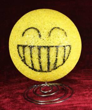 EVA&LED decorative ligts,Smiling Face Table Lamp