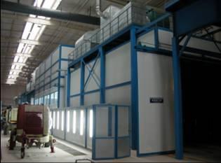 E-coat paint line & other production line
