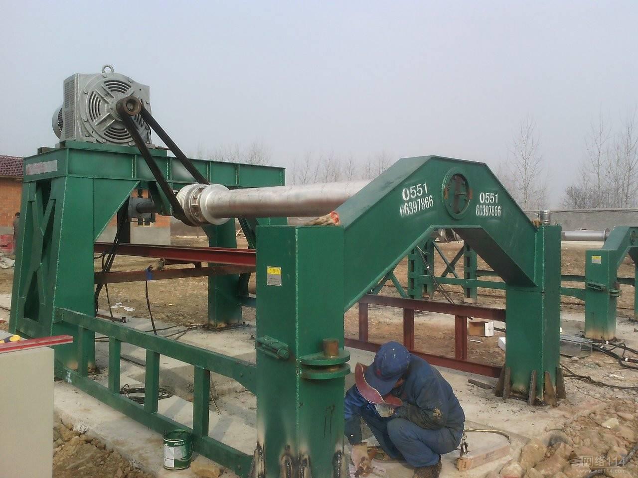 China Hanging Roller Concrete Pipe Making Machine