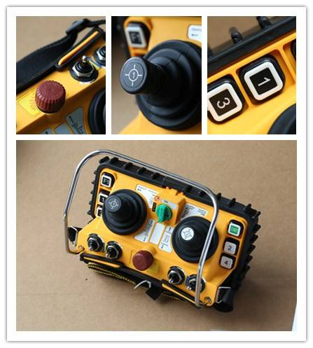 F24-60 industrial joystick wireless remote control