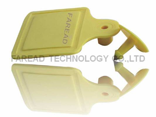 UHF RFID tag electronic Animal ear tag ISO18000-6C for sheep identification