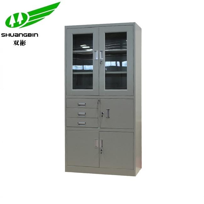 Modern design factory large capacity 3 drawer metal filing cabinet