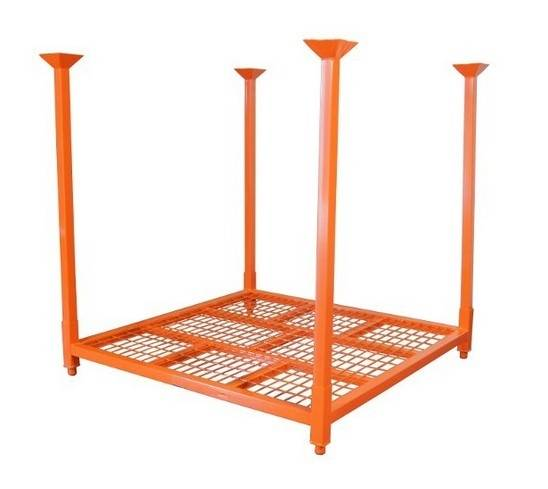 Tire Stackable Racks with wire mesh