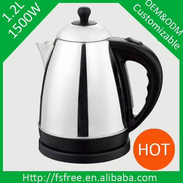 Hot sale new model stainless steel electric kettle