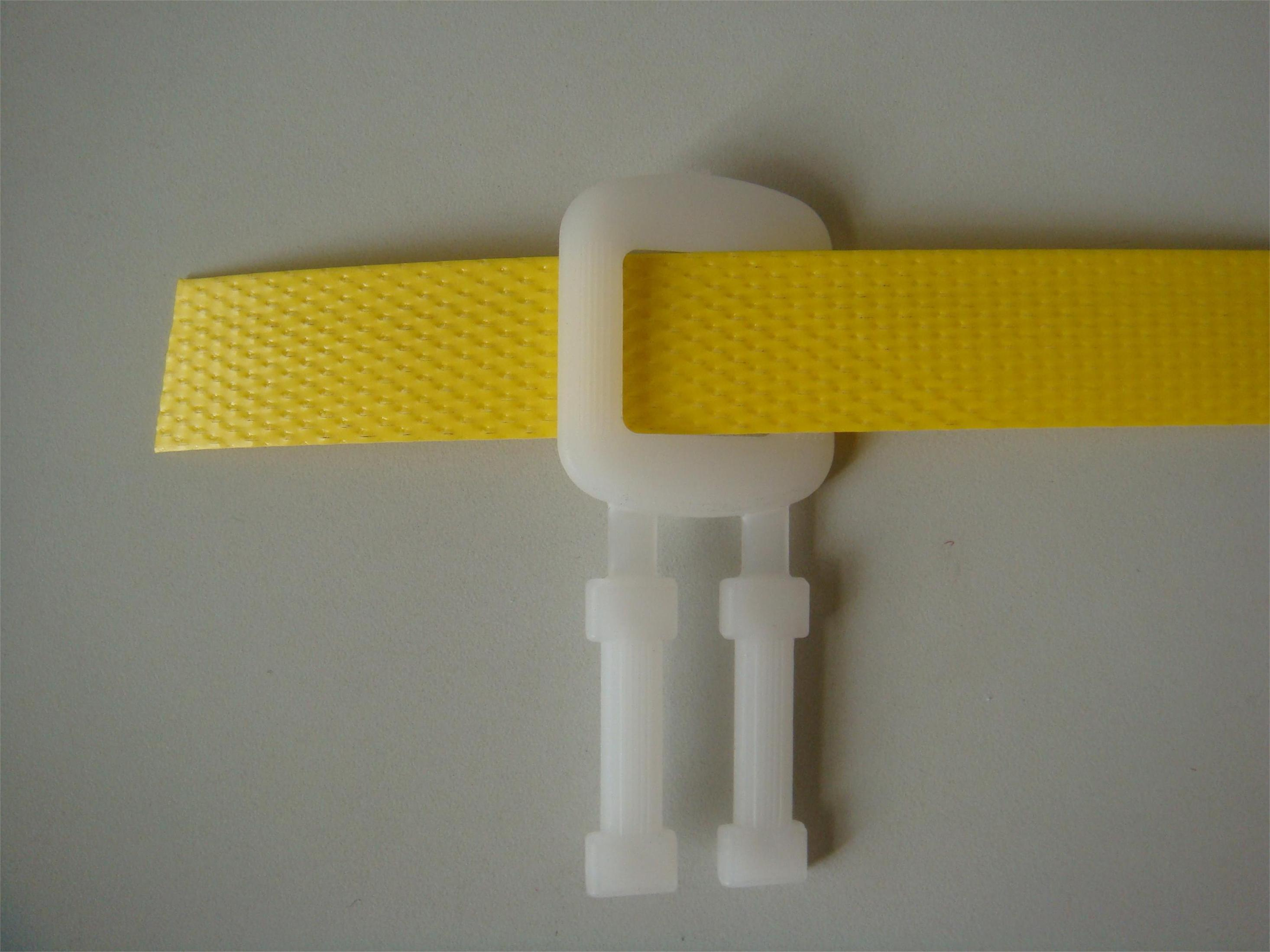 Strapping buckle for under 16mm PP packing strap