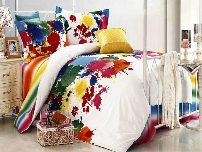 2012 New arrival/Free shipping/Bedding sets/100%cotton twill reactive dye /Listen to fashion