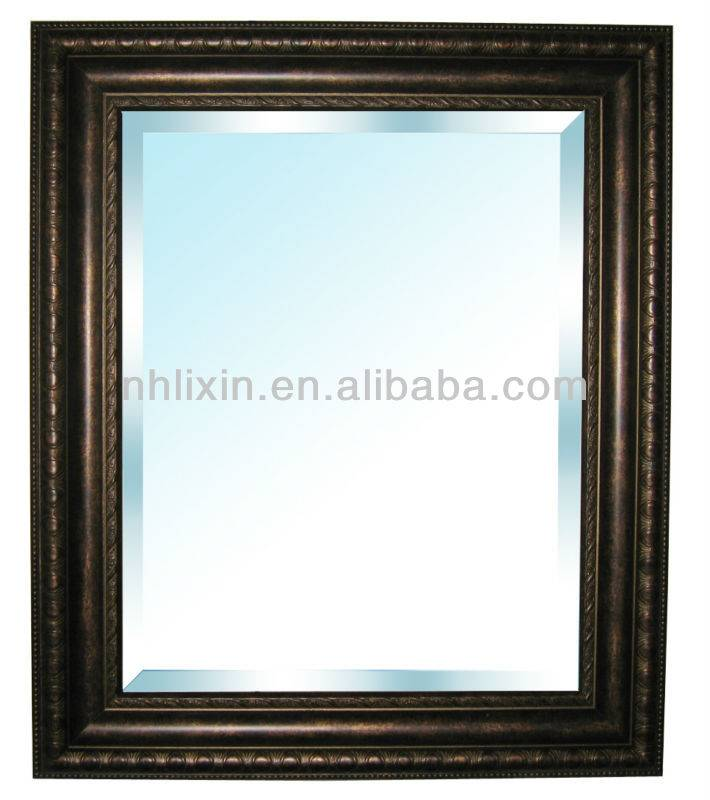 Eco-High Quality Plastic Decorative Framed Mirror